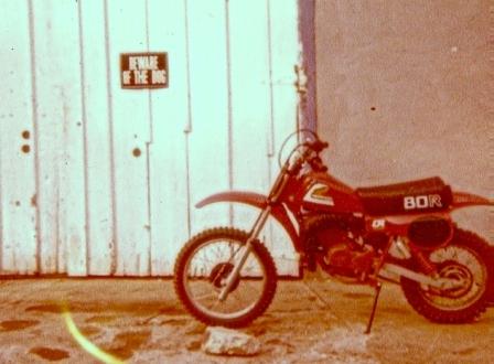 1980 Honda CR80R