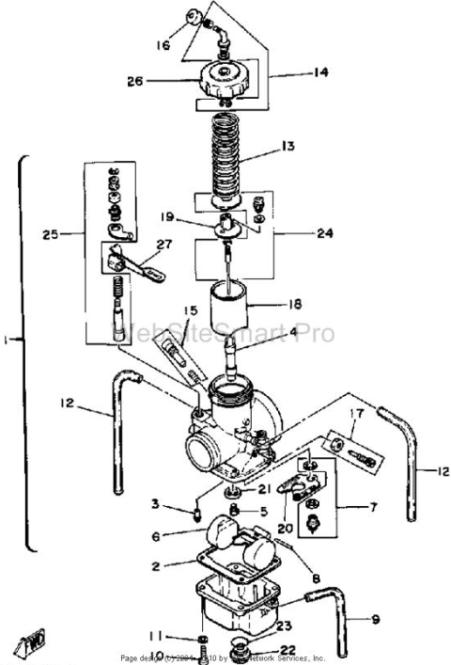 Mikuni Cv Carburetor Diagram in addition Yamaha It250 further Honda Scooter 80cc Engine Diagram Html as well Kazuma Meerkat 50cc Wiring Diagram Diagrams 50 Instruction 1963 Falcon also Kodiak Yfm400fwa. on honda atv parts diagram online