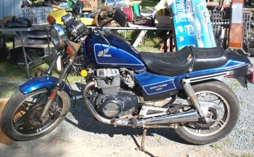 1986 Honda CB450 CB450SC Nighthawk