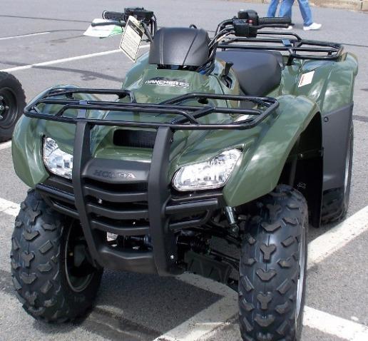 2010 Honda TRX420FPE Rancher ES 4x4 ATV