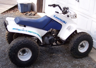 Kawasaki ATV Photos, Pics: New, Old, Custom.