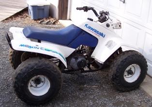 1987 Kawasaki Mojave KLF110