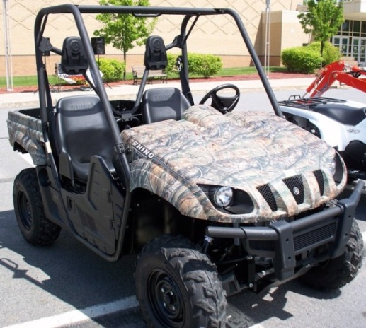 2009 Yamaha Rhino Side by Side or UTV