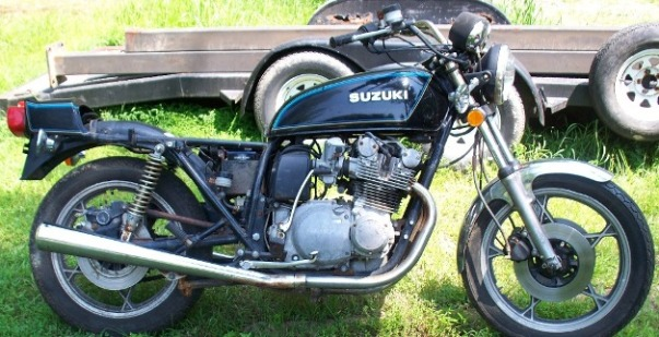 1978 Suzuki GS750 E model