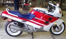 1980 CBR1000F Hurricane sportbike