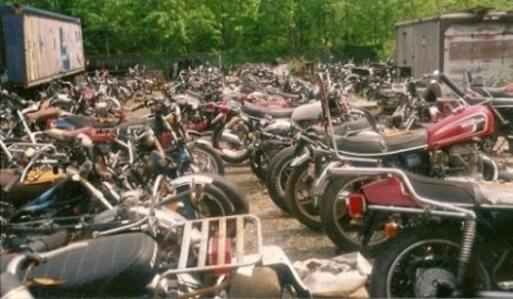 Weeks Motorcycle Salvage NJ
