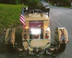 HD Custom Trike - American Motorcycle Photo