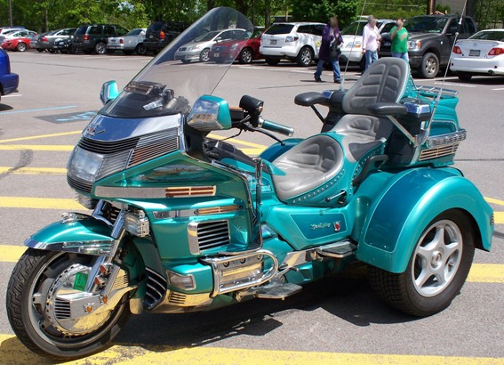 1994 Honda GL1500 Gold Wing Custom Trike