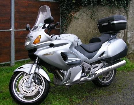 2001 Honda NTV 650 Deauville touring motorcycle moto
