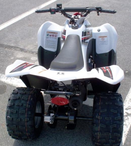 2010 Kawasaki KSF90 KFX90 kids ATV