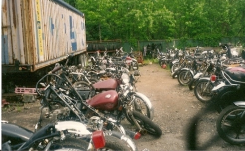 Weeks Motorcycle Salvage NJ 2