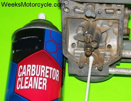 Cleaning the carb needle seat